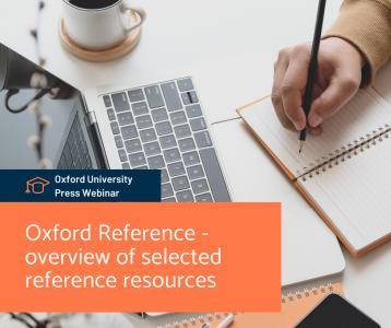 Oxford Reference - a kiválasztott referenciaforrások áttekintése