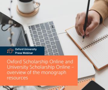 Oxford Scholarship Online and University Scholarship Online - a monográfia forrásainak áttekintése