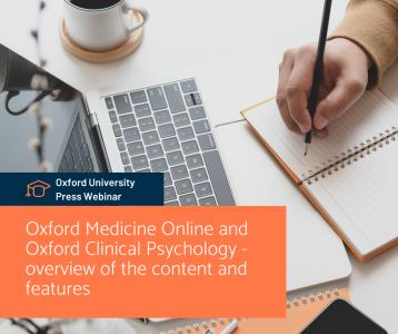 Oxford Medicine Online and Oxford Clinical Psychology - áttekintés